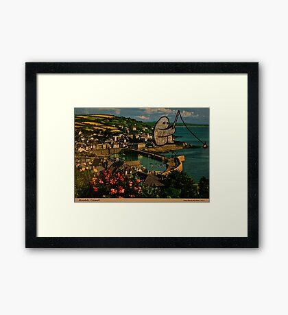 fishing gumbo Framed Print