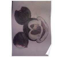 zombie mickey mouse Poster