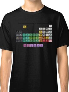The Periodic Table Of Supernatural Classic T-Shirt