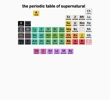 The Periodic Table Of Supernatural Unisex T-Shirt
