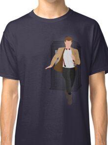 11th Doctor - Basically, Run! Classic T-Shirt