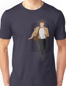 11th Doctor - Basically, Run! Unisex T-Shirt