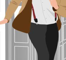 11th Doctor - Basically, Run! Sticker