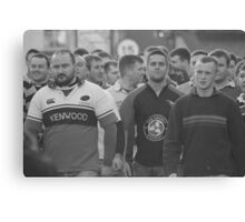 The players assemble 2 Canvas Print