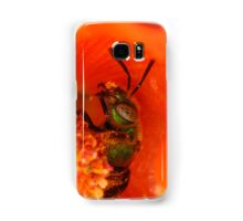 Sweat Bee (Halictid) Samsung Galaxy Case/Skin