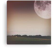 Super Moon Canvas Print