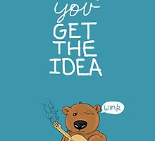 Valentine's Day Card (BEAR) by Mike Matthews