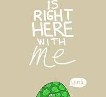 Valentine's Day Card (TURTLE) by Mike Matthews