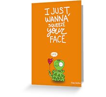 Valentine's Day Card (SNAKE) Greeting Card