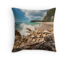 Onemana Splash Throw Pillow