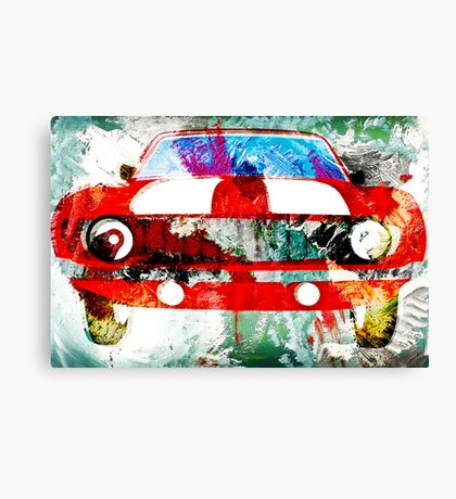 Red Camaro  Canvas Print