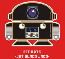 bit.bots JET BLACK JACK by 01Graphics