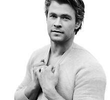 Chris Hemsworth by LaurenSkyWalker