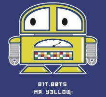 bit.bots MISTER YELLOW by 01Graphics