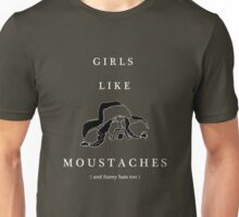 Girls like Moustaches (Bofur) Unisex T-Shirt