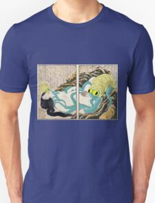 Diving Woman and Omastar Unisex T-Shirt