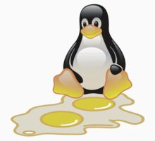 LINUX TUX PENGUIN TWINS SUNNYSIDE UP  Kids Clothes