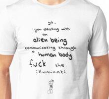 Alien Being  Unisex T-Shirt