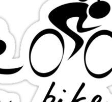 Swim Bike Run Girl Sticker