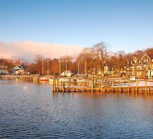 Lake Windermere - Ambleside by Fraser Patrick