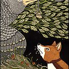 The Fox and the Crow (Colour) by Anita Inverarity