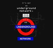 UNDERGROUND NETWORK Womens Fitted T-Shirt