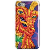 Gustav the Gallant Goat-Man iPhone Case/Skin