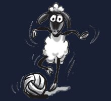 Sheep Footie Kids Tee