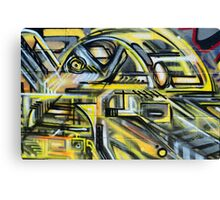 Graffiti in a freeform mordern style - Canvas Print