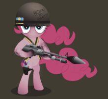 Gunner Pinkie Pie by GoneIn10Seconds