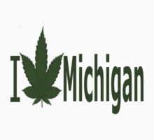 0220 I Love Michigan  by Ganjastan