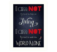 My Chemical Romance - Famous Last Words Art Print