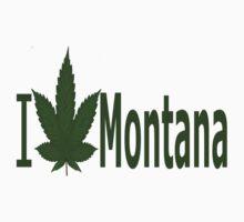 0224 I Love Montana  by Ganjastan