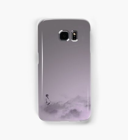 girl in the sky Samsung Galaxy Case/Skin