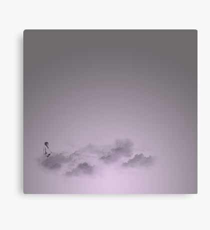 girl in the sky Canvas Print