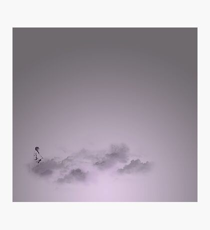 girl in the sky Photographic Print