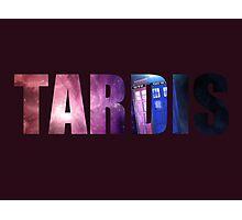 Doctor Who - TARDIS Photographic Print