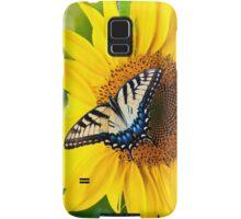 Enjoying the Flowers Samsung Galaxy Case/Skin
