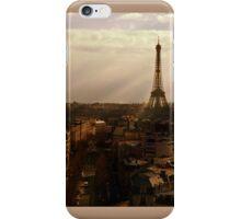 Eiffel Sunset iPhone Case/Skin