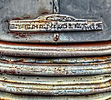 Beat Up Chevy Grille by Ken Smith