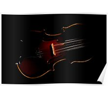 Violin in the Void  Poster