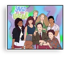 Saved by the Bell - Movie Poster Canvas Print