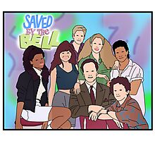 Saved by the Bell - Movie Poster Photographic Print