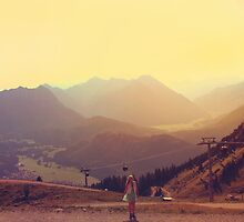 Austrian Alps by Paula Bielnicka