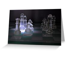 Chess Pieces - Greeting Card