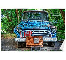 Truck and Eggs for Sale Poster
