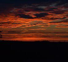 Brilliant Orange Sunset by LittleMissEme