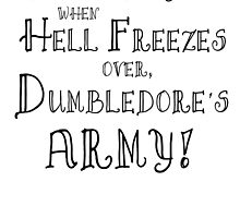 Dumbledore's Army Poster by Alexandrico