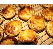 Oven Fresh Mince Pies Photographic Print