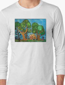 Fast asleep Foxes Long Sleeve T-Shirt